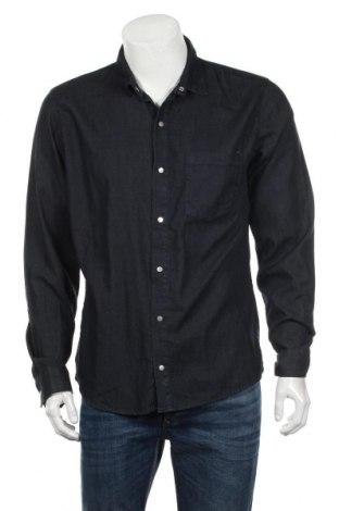 Мъжка риза American Vintage, Размер L, Цвят Син, Памук, Цена 28,56лв.