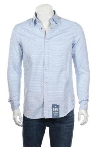 Ανδρικό πουκάμισο G-Star Raw, Μέγεθος M, Χρώμα Μπλέ, Βαμβάκι, Τιμή 38,64€