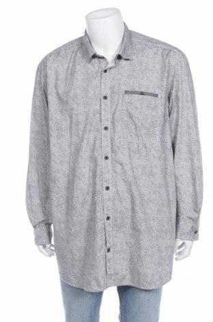 Мъжка риза Tom Tailor, Размер 4XL, Цвят Сив, Памук, Цена 34,50лв.