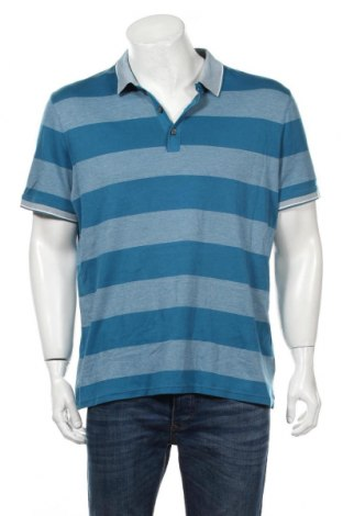 Tricou de bărbați Banana Republic, Mărime XL, Culoare Albastru, Bumbac, Preț 84,62 Lei