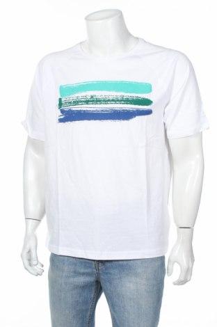 Ανδρικό t-shirt John Baner, Μέγεθος L, Χρώμα Λευκό, Βαμβάκι, Τιμή 23,71€