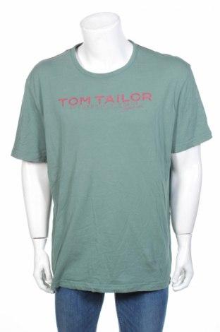 Tricou de bărbați Tom Tailor, Mărime XXL, Culoare Verde, Bumbac, Preț 75,16 Lei