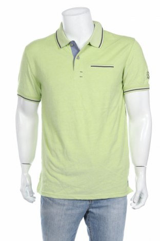 Tricou de bărbați Tom Tailor, Mărime L, Culoare Verde, Bumbac, Preț 92,84 Lei