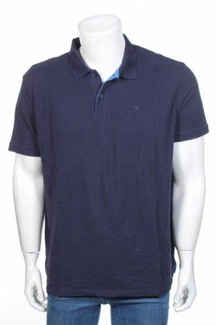 Tricou de bărbați Tom Tailor, Mărime XXL, Culoare Albastru, Bumbac, Preț 94,13 Lei