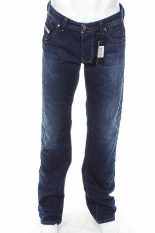 Męskie jeansy Diesel, Rozmiar L, Kolor Niebieski, Bawełna, Cena 302,40zł