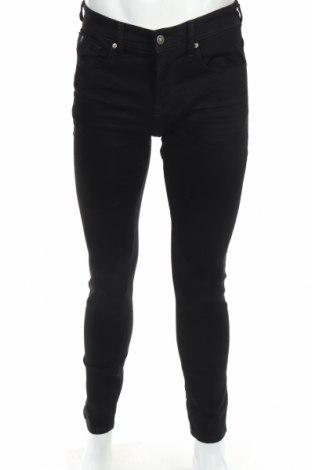 Мъжки дънки Tom Tailor, Размер S, Цвят Черен, 99% памук, 1% еластан, Цена 43,45лв.