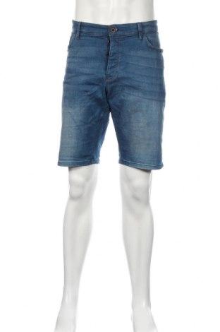 Pantaloni scurți de bărbați Q/S by S.Oliver, Mărime XL, Culoare Albastru, 99% bumbac, 1% elastan, Preț 102,32 Lei