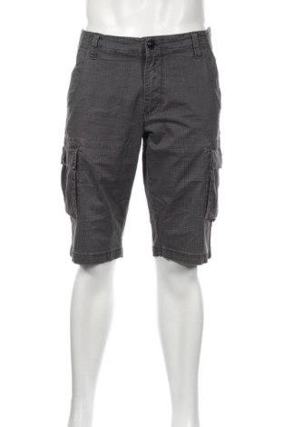 Мъжки къс панталон S.Oliver, Размер L, Цвят Сив, 97% памук, 3% еластан, Цена 27,60лв.