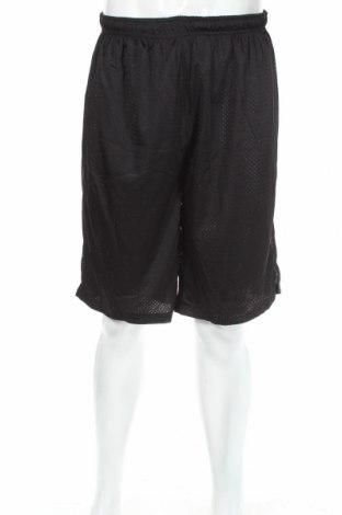 Мъжки къс панталон Sports, Размер XL, Цвят Черен, Полиестер, Цена 18,84лв.