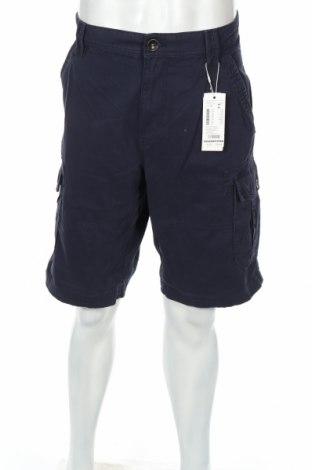 Мъжки къс панталон Tom Tailor, Размер L, Цвят Син, 100% памук, Цена 49,68лв.