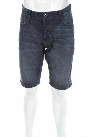 Ανδρικό κοντό παντελόνι Tom Tailor, Μέγεθος M, Χρώμα Μπλέ, 98% βαμβάκι, 2% ελαστάνη, Τιμή 19,56€