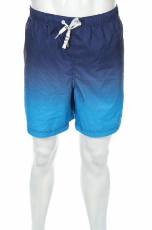 Pantaloni scurți de bărbați Tom Tailor, Mărime XXL, Culoare Albastru, 100% poliester, Preț 86,45 Lei
