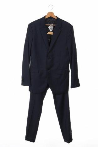 Pánsky oblek  Pier One, Veľkosť S, Farba Modrá, 70% polyester, 30% viskóza, Cena  62,35€