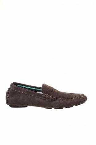 Ανδρικά παπούτσια Celio, Μέγεθος 43, Χρώμα Γκρί, Φυσικό σουέτ, Τιμή 27,60€