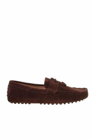 Ανδρικά παπούτσια John Scott, Μέγεθος 42, Χρώμα Καφέ, Φυσικό σουέτ, Τιμή 38,64€