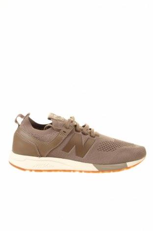 Ανδρικά παπούτσια New Balance, Μέγεθος 45, Χρώμα Καφέ, Κλωστοϋφαντουργικά προϊόντα, Τιμή 58,13€