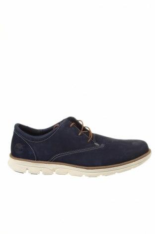 Ανδρικά παπούτσια Timberland, Μέγεθος 43, Χρώμα Μπλέ, Γνήσιο δέρμα, Τιμή 71,46€
