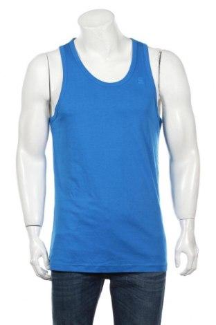 Ανδρική αμάνικη μπλούζα G-Star Raw, Μέγεθος XXL, Χρώμα Μπλέ, 100% βαμβάκι, Τιμή 12,47€