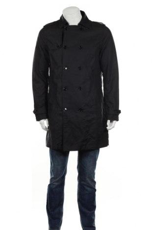 Pánský přechodný kabát  Pier One, Rozměr M, Barva Modrá, 100% bavlna, Cena  599,00Kč