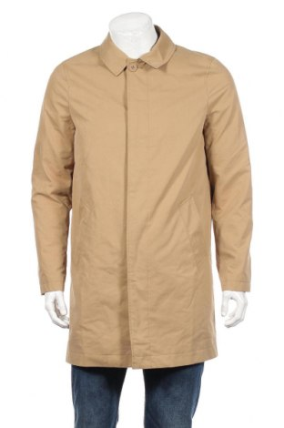 Pánský kabát  Jack Wills, Rozměr S, Barva Béžová, 67% bavlna, 33% polyester, Cena  974,00Kč