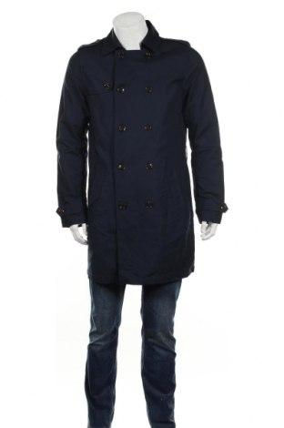 Pánsky kabát  Pier One, Veľkosť M, Farba Modrá, Bavlna, Cena  32,12€