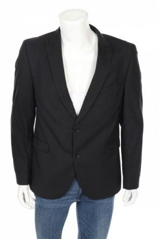 Мъжко сако Strellson, Размер L, Цвят Черен, 97% вълна, 3% еластан, Цена 15,75лв.
