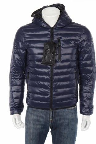 Ανδρικό μπουφάν Replay, Μέγεθος M, Χρώμα Μπλέ, Πολυαμίδη, Τιμή 66,76€