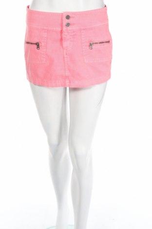 Пола Abercrombie & Fitch, Размер XS, Цвят Розов, 98% памук, 2% еластан, Цена 7,48лв.