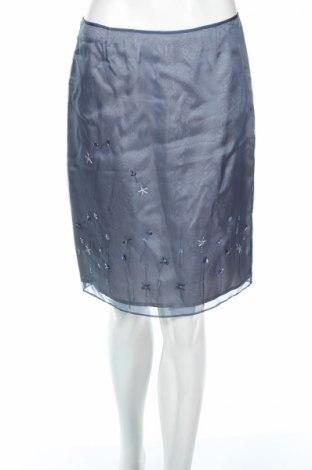 Φούστα Laundry By Shelli Segal, Μέγεθος S, Χρώμα Μπλέ, 100% μετάξι, Τιμή 15,41€