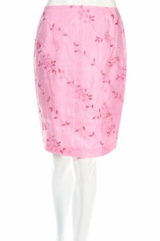 Пола Loft By Ann Taylor, Размер M, Цвят Розов, Коприна, Цена 83,71лв.