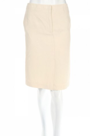 Φούστα Max Mara, Μέγεθος S, Χρώμα  Μπέζ, 65% ασετάτ, 35% λινό, Τιμή 17,29€