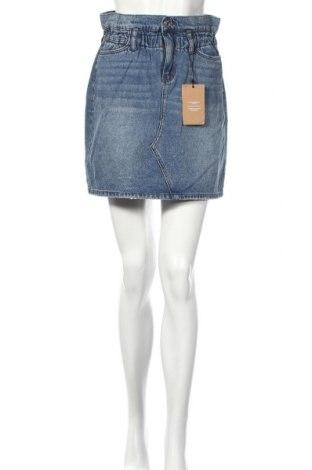 Φούστα Vero Moda, Μέγεθος M, Χρώμα Μπλέ, Βαμβάκι, Τιμή 18,19€