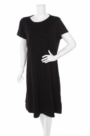Рокля Veronika Maine, Размер XL, Цвят Черен, 67% вискоза, 27% полиамид, 6% еластан, Цена 13,65лв.