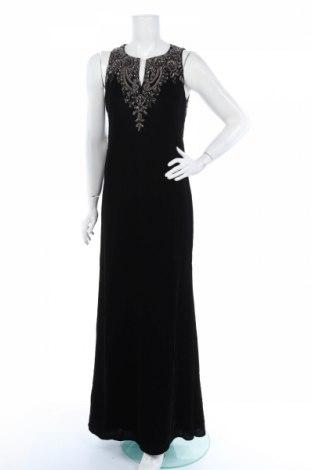 Рокля Adrianna Papell, Размер M, Цвят Черен, 100% полиестер, Цена 109,62лв.