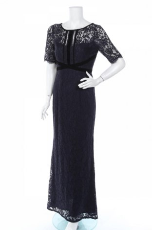 Рокля Adrianna Papell, Размер M, Цвят Син, 65% памук, 35% полиамид, Цена 99,60лв.