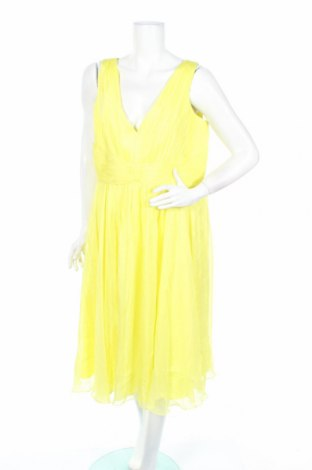 Šaty  Aiko, Rozměr XL, Barva Žlutá, Polyester, Cena  393,00Kč