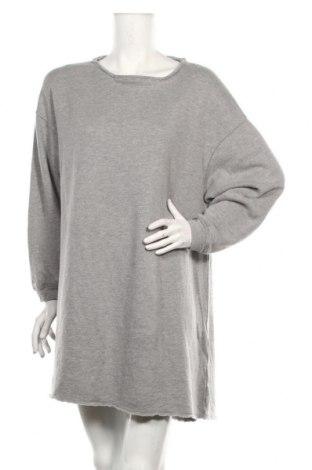 Рокля American Vintage, Размер S, Цвят Сив, 50% памук, 50% модал, Цена 83,85лв.