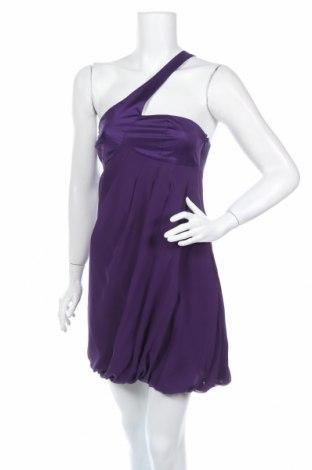 Φόρεμα Armani Exchange, Μέγεθος M, Χρώμα Βιολετί, Μετάξι, πολυεστέρας, Τιμή 51,13€