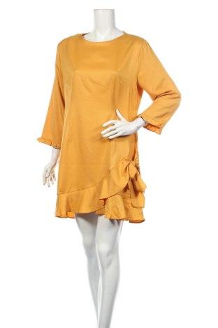 Šaty  Boohoo, Rozměr XL, Barva Žlutá, Polyester, Cena  178,00Kč
