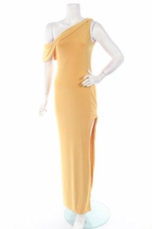 Рокля Club L, Размер M, Цвят Жълт, 95% полиестер, 5% еластан, Цена 17,36лв.