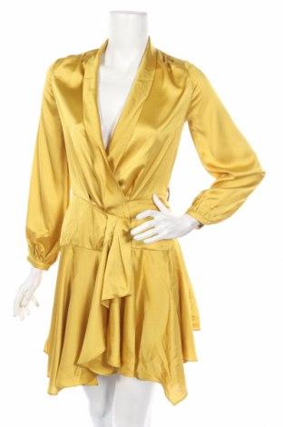 Рокля Club L, Размер XS, Цвят Жълт, Цена 31,60лв.
