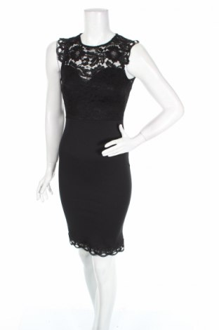 Рокля Lipsy London, Размер XS, Цвят Черен, 95% полиестер, 5% еластан, Цена 52,92лв.