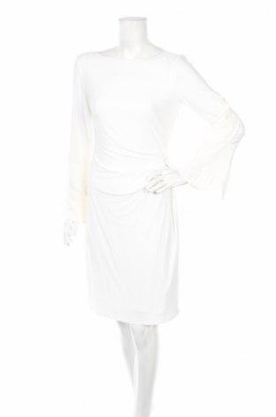 Sukienka Ralph Lauren, Rozmiar M, Kolor Biały, Poliester, Cena 95,40zł