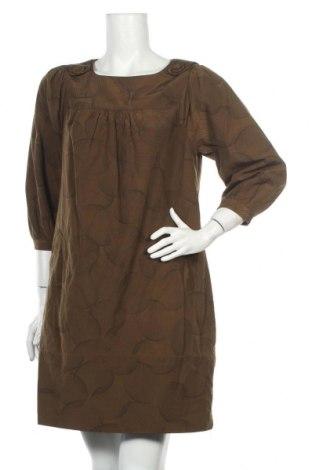 Рокля Veronika Maine, Размер XL, Цвят Зелен, 53% полиамид, 43% памук, 4% метални нишки, Цена 14,70лв.