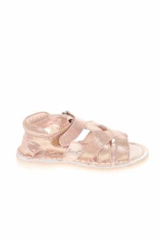 Детски сандали Oca-Loca, Размер 24, Цвят Розов, Естествена кожа, Цена 22,40лв.