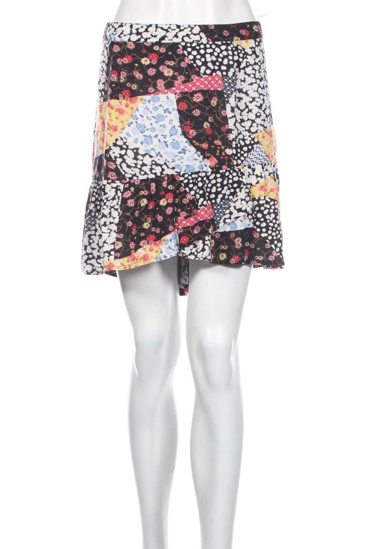 Пола Clockhouse, Размер XL, Цвят Многоцветен, Вискоза, Цена 14,40лв.