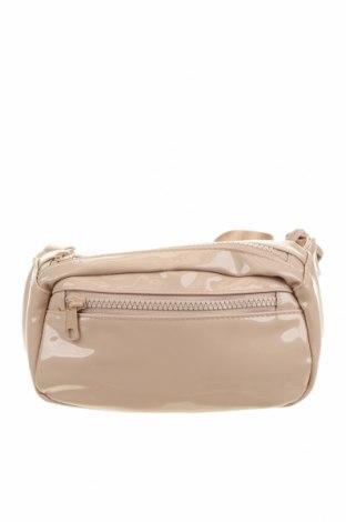 Τσάντα H&M Divided, Χρώμα  Μπέζ, Δερματίνη, Τιμή 11,69€
