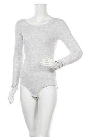 Γυναικεία μπλούζα-Κορμάκι Champion, Μέγεθος S, Χρώμα Γκρί, 94% βαμβάκι, 6% ελαστάνη, Τιμή 22,81€