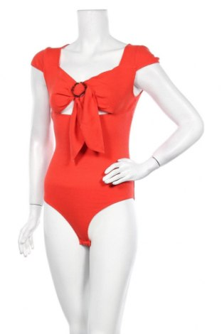 Γυναικεία μπλούζα-Κορμάκι Even&Odd, Μέγεθος S, Χρώμα Κόκκινο, 48% βαμβάκι, 48% πολυεστέρας, 4% ελαστάνη, Τιμή 1,59€