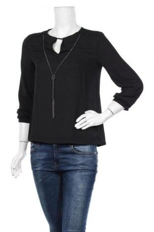 Дамска блуза Anna Field, Размер S, Цвят Черен, Полиестер, Цена 11,31лв.